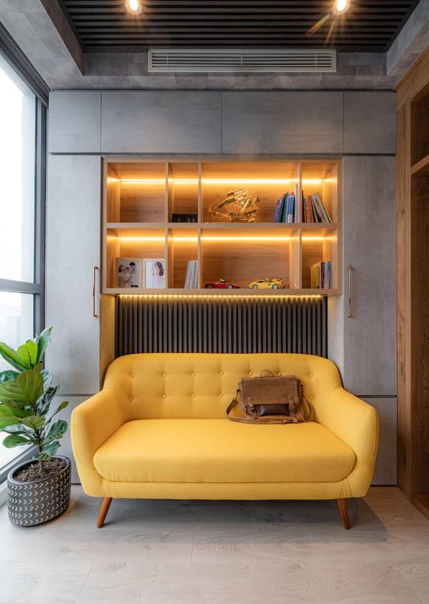 KTS mạnh tay chơi 4 phong cách cho căn hộ Vinhomes: Indochine kết hợp Wabi Sabi, thêm chút resort và có cả Art Deco - Ảnh 12.