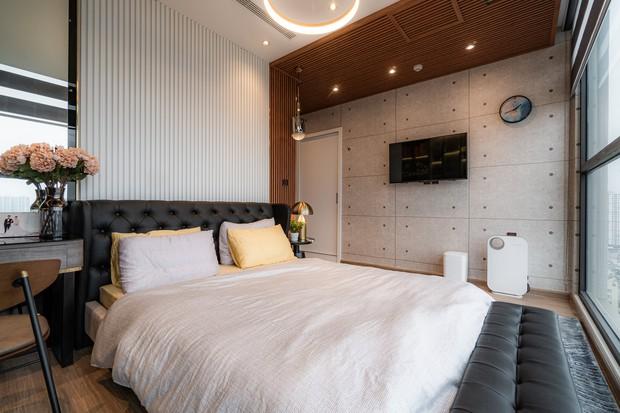 KTS mạnh tay chơi 4 phong cách cho căn hộ Vinhomes: Indochine kết hợp Wabi Sabi, thêm chút resort và có cả Art Deco - Ảnh 14.