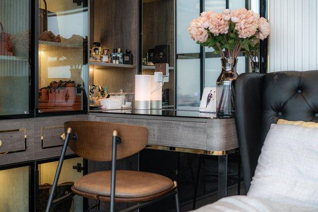 KTS mạnh tay chơi 4 phong cách cho căn hộ Vinhomes: Indochine kết hợp Wabi Sabi, thêm chút resort và có cả Art Deco - Ảnh 15.