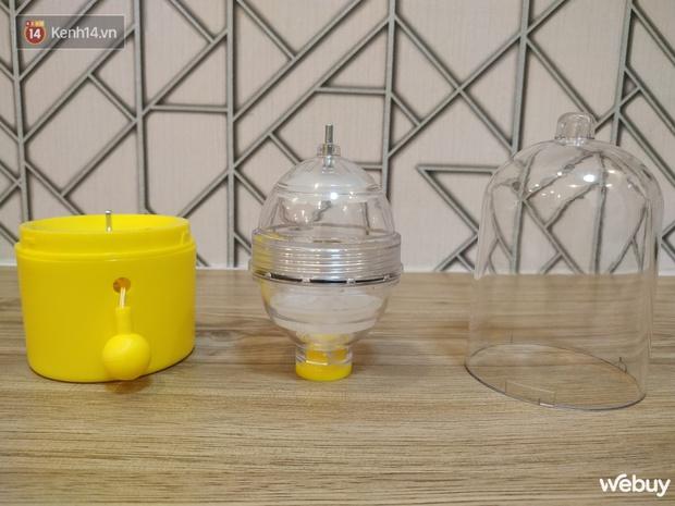 Máy làm trứng lòng vàng giá 89K: Kéo cưa lừa xẻ tầm 1 phút là có trứng full vàng vi diệu - Ảnh 5.