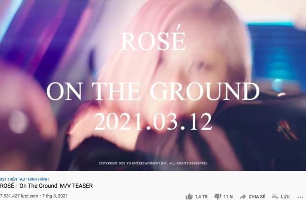 Lượt xem 24h teaser MV của Rosé (BLACKPINK) bất ngờ giảm đến 7 triệu so với b-side, thì ra lỗi là do YG! - Ảnh 4.