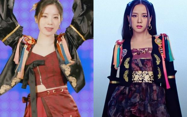 Khổ thân Jisoo lẫn BLACKPINK, có bộ hanbok thiết kế riêng rồi mà cứ bị đạo nhái mãi thôi! - Ảnh 7.