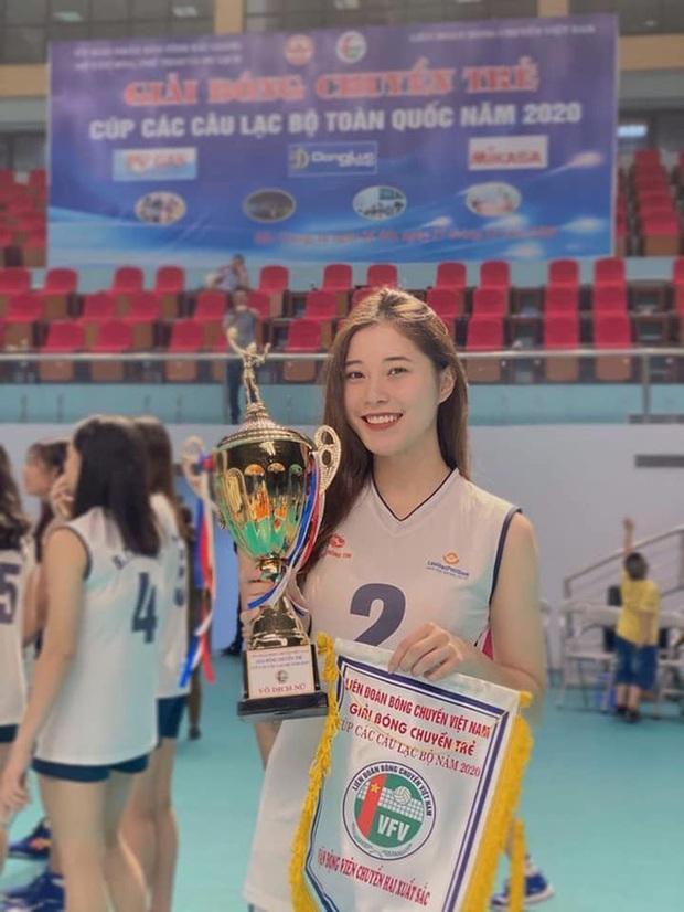 Thông tin hoa khôi bóng chuyền 19 tuổi Đặng Thu Huyền giải nghệ được CLB chủ quản xác nhận - Ảnh 1.