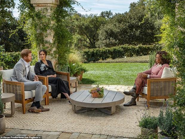 17 triệu người xem cuộc phỏng vấn Hoàng tử Harry và vợ tố gia đình hoàng gia - Ảnh 2.