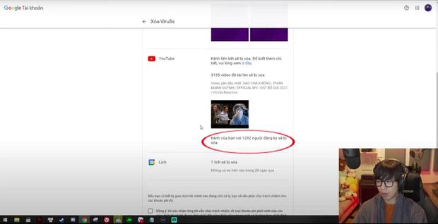 Nghi vấn ViruSs là cánh bướm dối gian, chỉ ẩn kênh YouTube 4 triệu sub thay vì xóa kênh như đã thông báo! - Ảnh 2.