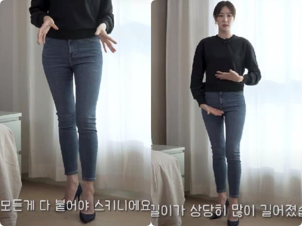 Nàng blogger Hàn tố cáo 4 loại quần jeans dễ dìm dáng chị em, hé lộ kiểu quần dễ mặc nịnh mắt nhất - Ảnh 1.