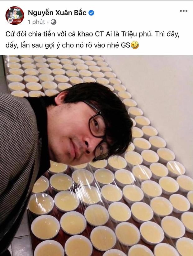 Thắng 40 triệu, Xuân Bắc khao Giáo sư Xoay cực gắt hậu Ai Là Triệu Phú - Ảnh 1.