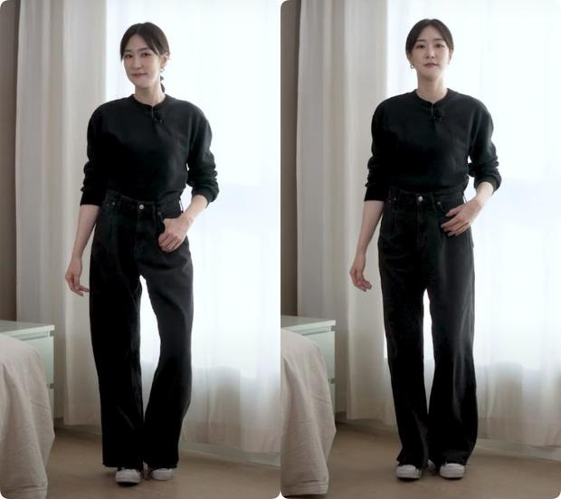 Nàng blogger Hàn tố cáo 4 loại quần jeans dễ dìm dáng chị em, hé lộ kiểu quần dễ mặc nịnh mắt nhất - Ảnh 14.