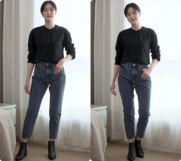 Nàng blogger Hàn tố cáo 4 loại quần jeans dễ dìm dáng chị em, hé lộ kiểu quần dễ mặc nịnh mắt nhất - Ảnh 6.