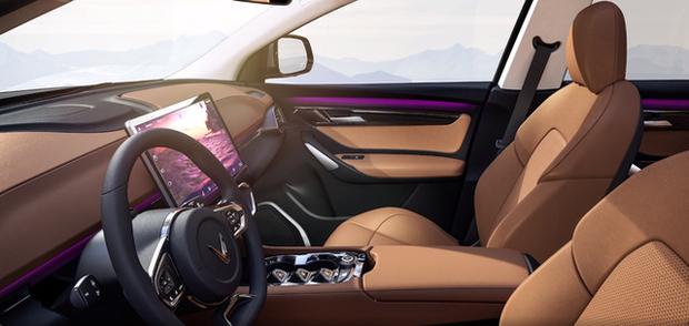 Lộ diện VinFast VF e35: Cỡ ngang Mercedes GLC, đặt cọc từ tháng 9, bán cả trong nước và Mỹ, Canada - Ảnh 7.