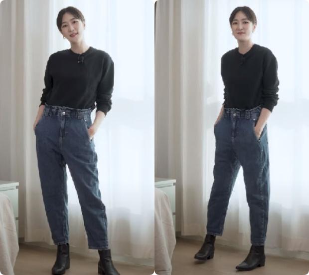 Nàng blogger Hàn tố cáo 4 loại quần jeans dễ dìm dáng chị em, hé lộ kiểu quần dễ mặc nịnh mắt nhất - Ảnh 8.