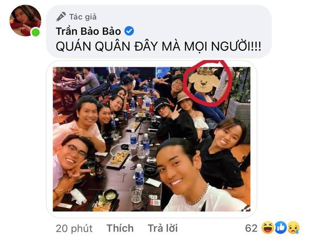 BB Trần khoe hình đi ăn tiệc mừng giải Quán quân của Ngọc Phước nhưng lại không thấy nhân vật chính? - Ảnh 2.