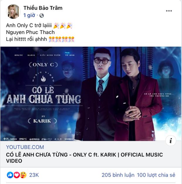Netizen khẳng định đoạn rap của Karik đã cứu cả bài của OnlyC, riêng Thiều Bảo Trâm tuyên bố đây là hit! - Ảnh 5.