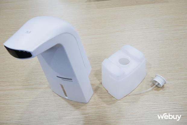 Thử sắm máy rửa tay tự động tạo bọt: Quá ưng vì chỉ 150k mà xịn như ở trung tâm thương mại - Ảnh 4.