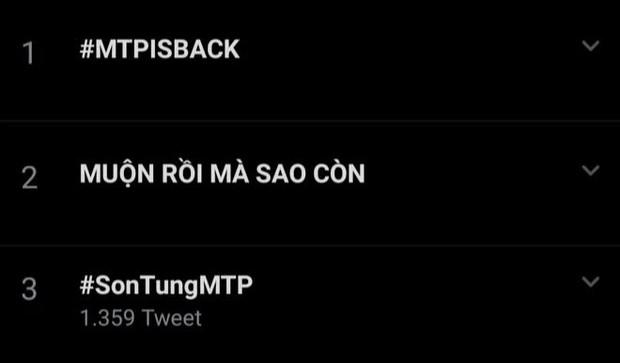 Động thái đêm muộn giúp Sơn Tùng thống trị top trending cùng BLACKPINK, fan đoán luôn tên bài hát comeback - Ảnh 3.