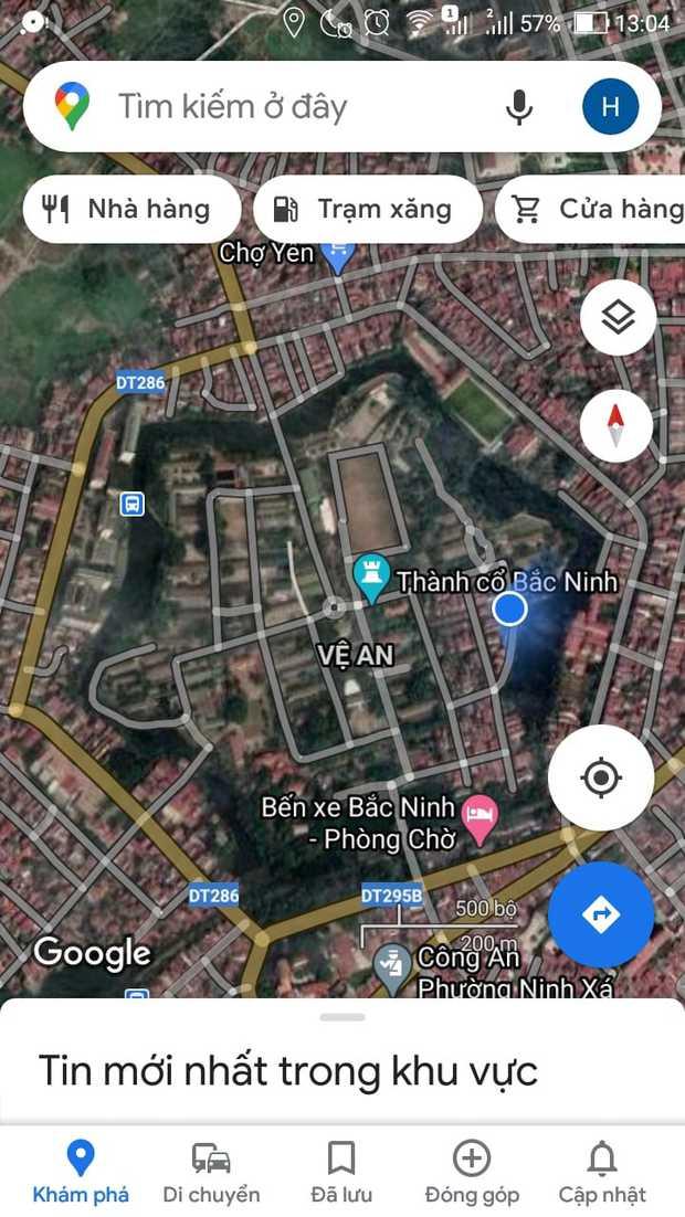 Những bức ảnh thành cổ tại Việt Nam nhìn từ Google Maps khiến cộng đồng mạng trầm trồ - Ảnh 1.