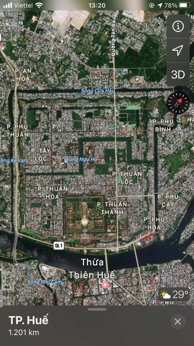 Những bức ảnh thành cổ tại Việt Nam nhìn từ Google Maps khiến cộng đồng mạng trầm trồ - Ảnh 4.
