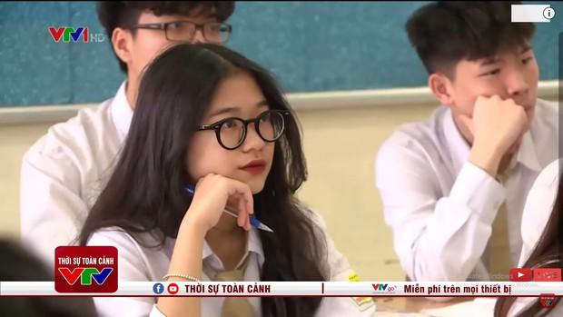 Nữ sinh xuất hiện vài giây ở bản tin thời sự, netizen ngắm xong rần rần đòi tăng lương cho anh quay phim của VTV - Ảnh 1.
