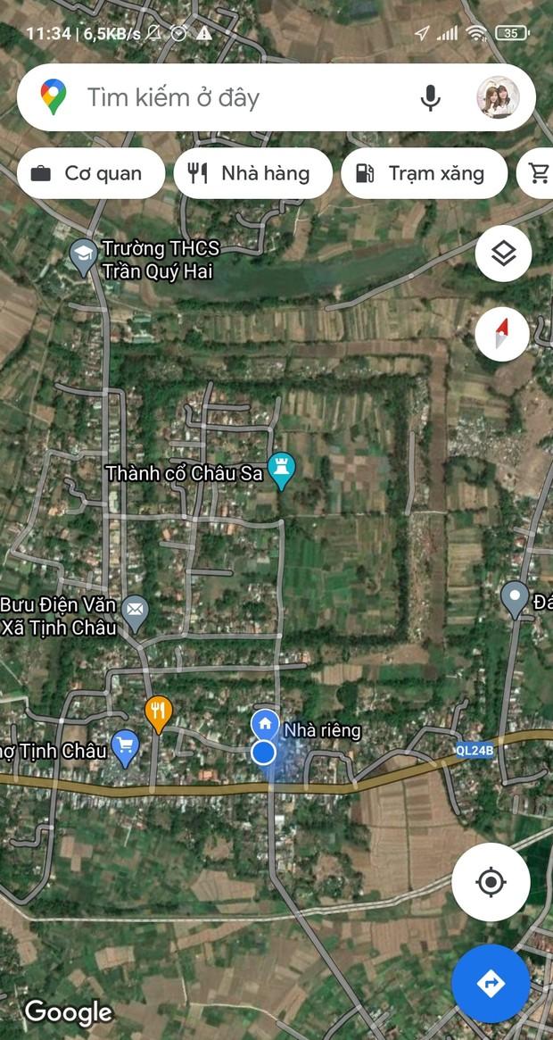 Những bức ảnh thành cổ tại Việt Nam nhìn từ Google Maps khiến cộng đồng mạng trầm trồ - Ảnh 3.