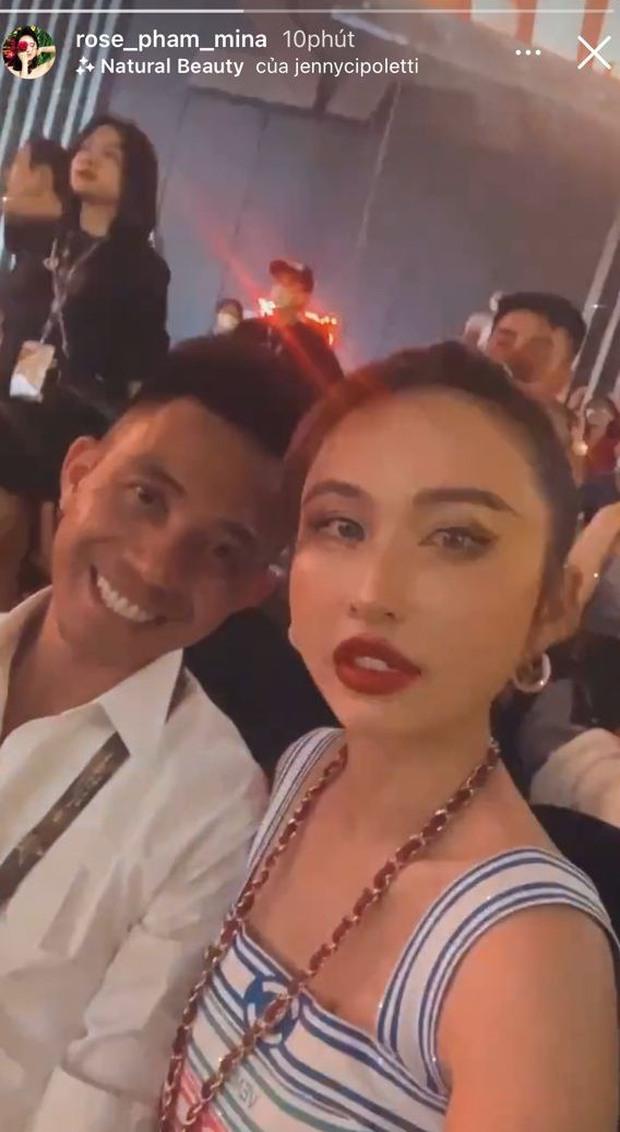Đại gia Minh Nhựa dẫn vợ hai đi xem concert Rap Việt, cả Phí Phương Anh và bồ thiếu gia cũng có mặt - Ảnh 1.