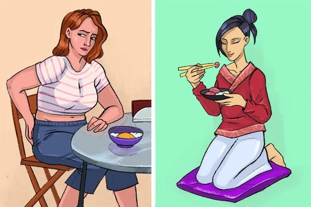Vì sao người Nhật Bản thường ngồi bệt xuống sàn để ăn? - Ảnh 2.