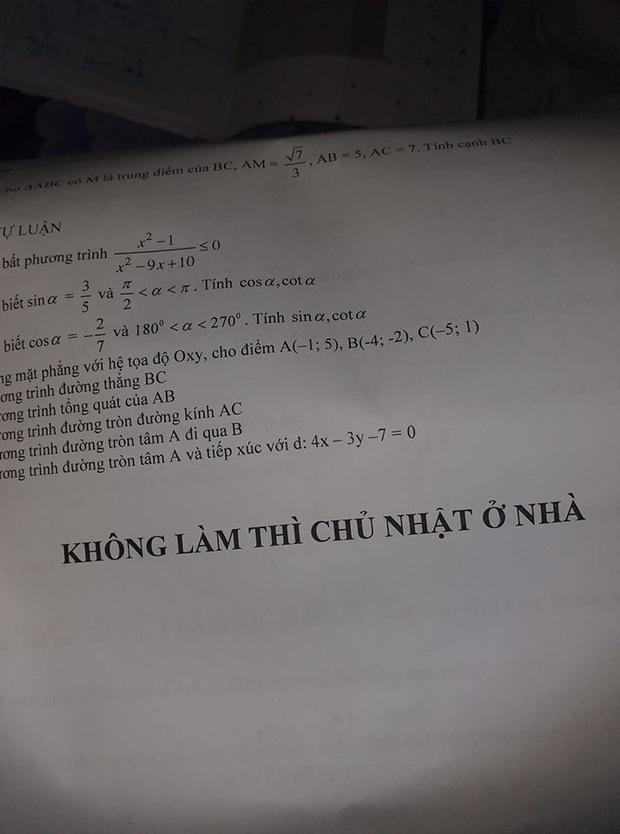 Ra đề kiểm tra Văn, cô giáo đính kèm 4 câu, đọc mà thấy yêu quá chừng - Ảnh 3.