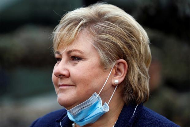 Thủ tướng Na Uy nộp phạt do vi phạm phòng dịch - Ảnh 1.