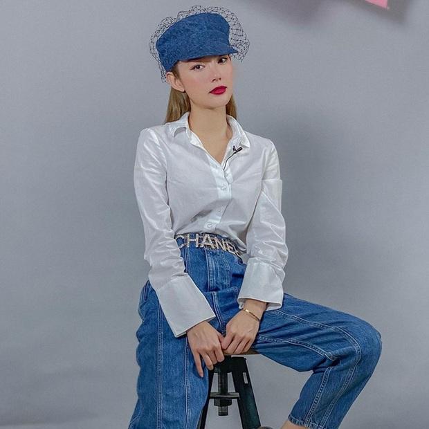 Minh Hằng đã sửa cách diện áo sơ mi trắng thế nào để có được bộ đồ xịn đẹp level max? - Ảnh 4.
