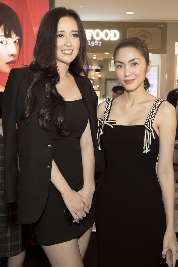Hà Tăng khi chung khung hình với dàn Hoa hậu: Dù makeup đậm hay nhạt cũng không ngán bất cứ ai - Ảnh 4.