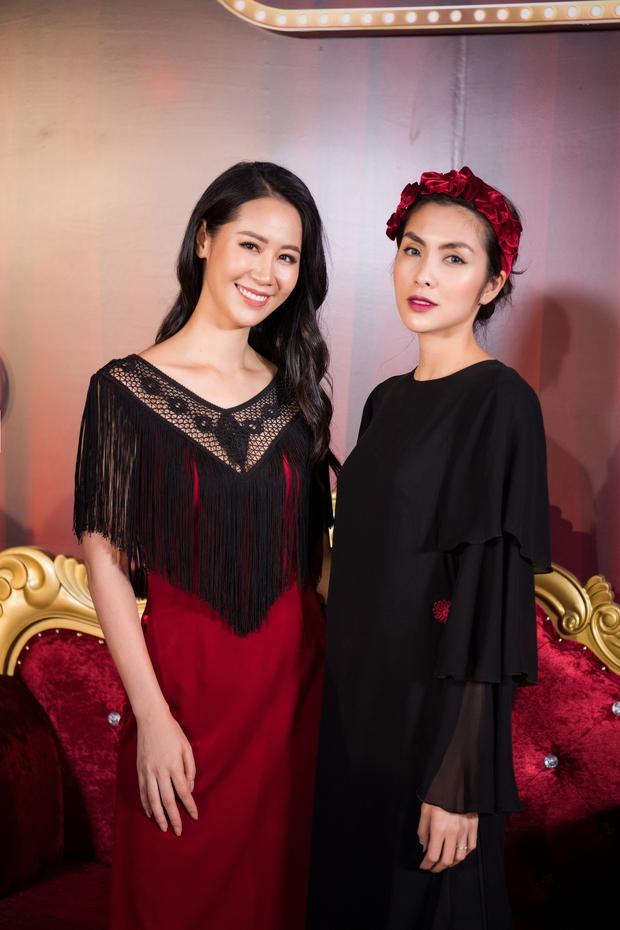Hà Tăng khi chung khung hình với dàn Hoa hậu: Dù makeup đậm hay nhạt cũng không ngán bất cứ ai - Ảnh 5.