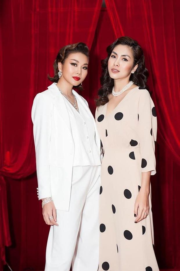 Hà Tăng khi chung khung hình với dàn Hoa hậu: Dù makeup đậm hay nhạt cũng không ngán bất cứ ai - Ảnh 7.