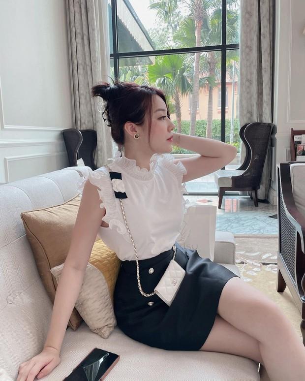 Rich kid Trinh Hoàng mua cả lố túi Chanel như gom hàng trăm rưỡi, trăm bảy trên mạng - Ảnh 3.