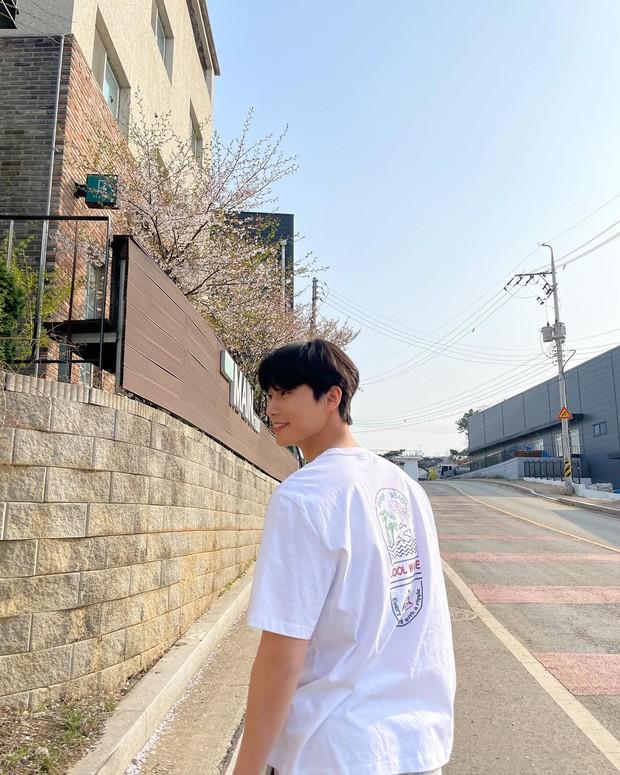 Park Min Young - Park Seo Joon lộ bằng chứng hẹn hò ngắm hoa anh đào, còn dùng chiêu này để đánh lạc hướng? - Ảnh 2.