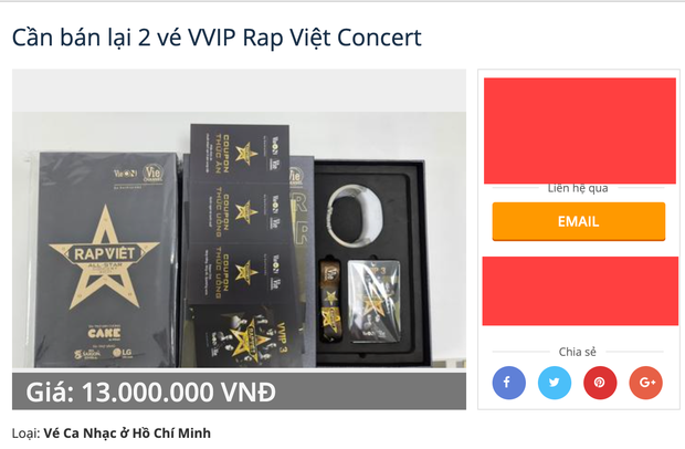 Hé lộ thực đơn VVIP của Rap Việt Concert, bỏ cả chục triệu ra mua nhưng có 1 điểm gây mất hứng! - Ảnh 1.