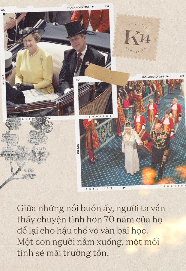 Mối tình 73 năm của Hoàng thân Philip và Nữ hoàng Elizabeth: Hai bước sau Nữ hoàng, một đời chẳng rời nhau - Ảnh 4.