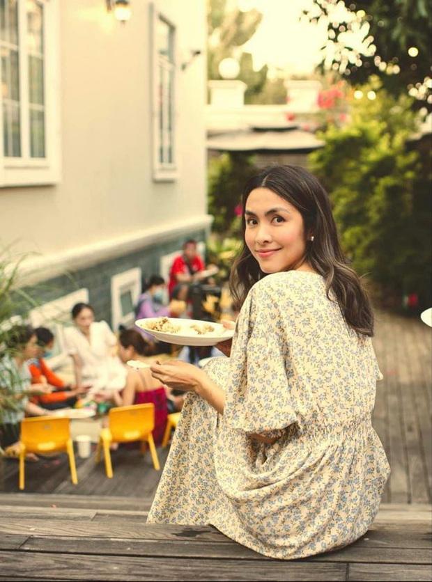 Tiệc cuối tuần giới nhà giàu: Hà Tăng nấu cả bàn ốc như nhà hàng, Băng Di - Linh Rin đến Hoa hậu Trái đất thi nhau xuýt xoa - Ảnh 9.