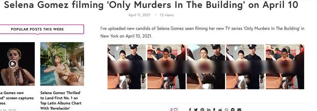 Facebook rầm rộ hình ảnh Selena Gomez bị bắt khẩn cấp với trang phục đầy máu, sự thật đằng sau gây phẫn nộ đỉnh điểm - Ảnh 4.