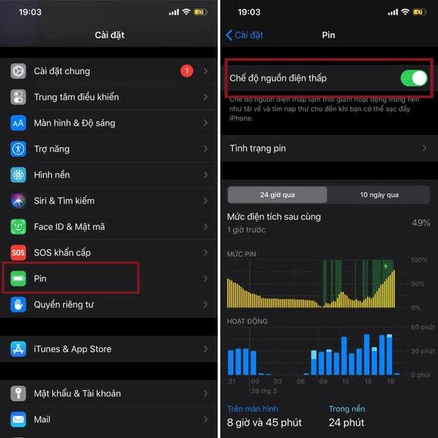 5 mẹo tiết kiệm pin trên iPhone có thể bạn chưa biết - Ảnh 5.