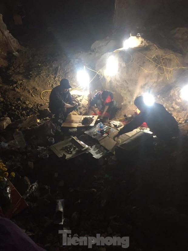 Lạng Sơn: Phát hiện 3 bộ hài cốt vô danh ở núi Chùa Tiên - Ảnh 1.
