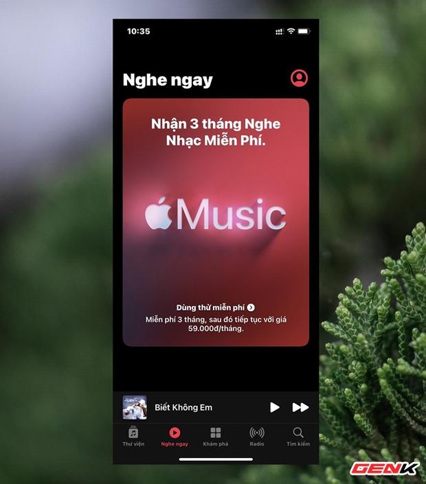Cách đăng ký nhận 3 tháng dùng thử miễn phí Apple Music trên iPhone - Ảnh 3.