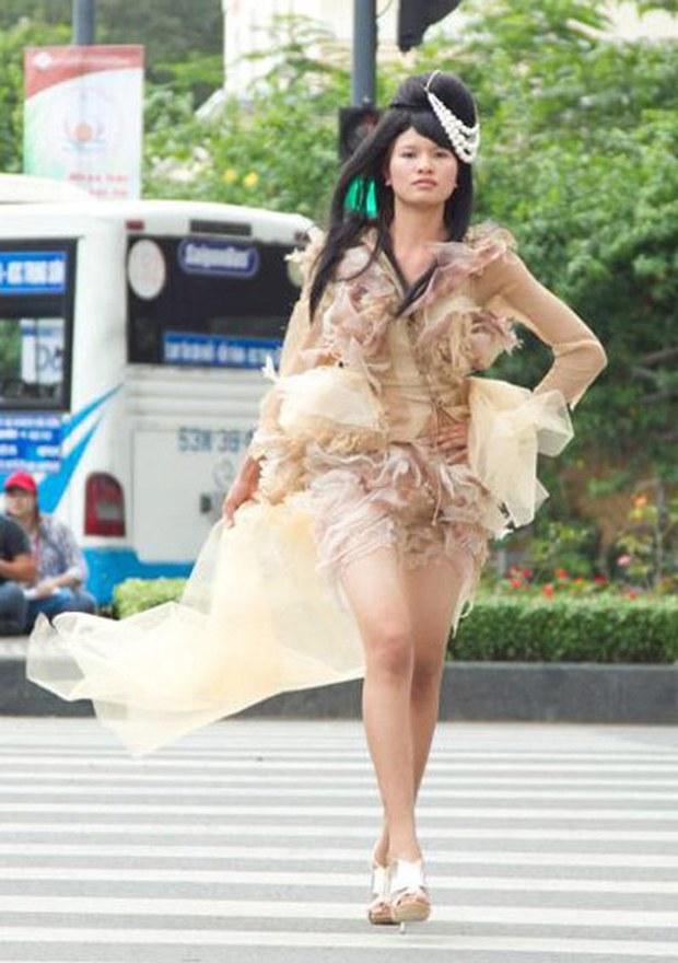 Gái quê Lê Thị Phương - thí sinh đầu tiên lập gia đình được vào nhà chung Vietnams Next Top Model giờ ra sao? - Ảnh 5.