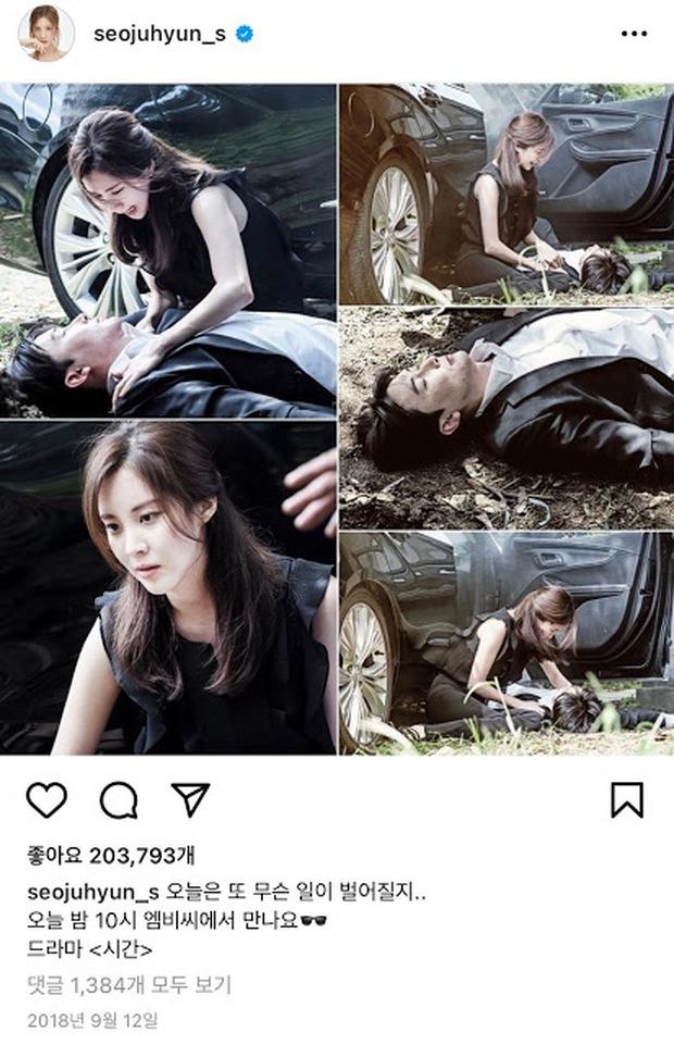 Thái độ của Seohyun khi quay Time được đào lại, bị Kim Jung Hyun bơ đẹp mà vẫn tươi cười - Ảnh 3.