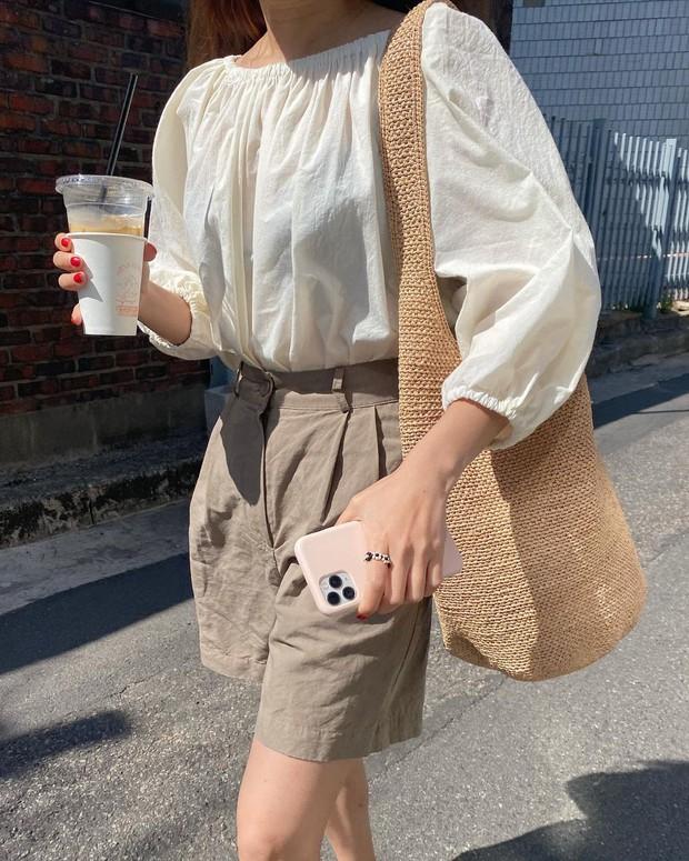 Mùa hè nóng nực, chị em nào muốn mặc quần short mà xinh như gái Hàn thì bơi vào đây! - Ảnh 7.
