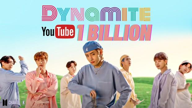 MV Dynamite chỉ mất hơn 7 tháng để cán mốc 1 tỷ view, giúp BTS phá kỷ lục của BLACKPINK và cho toàn bộ các nhóm Kpop ngửi khói - Ảnh 3.