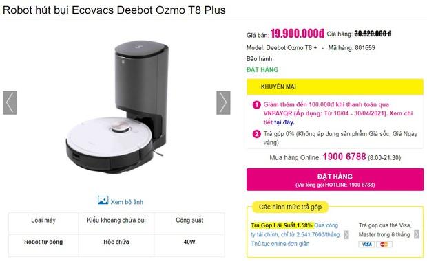 Mua robot hút bụi mà không rõ 4 điều này thì chỉ tổ phí tiền - Ảnh 13.
