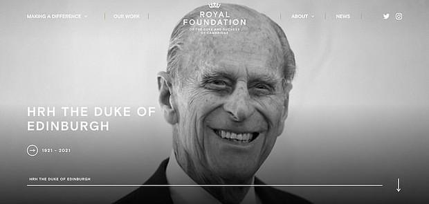Vợ chồng Kate - William có động thái đầu tiên sau khi Hoàng thân Philip qua đời: Tinh tế, thầm lặng mà đầy xúc động - Ảnh 1.