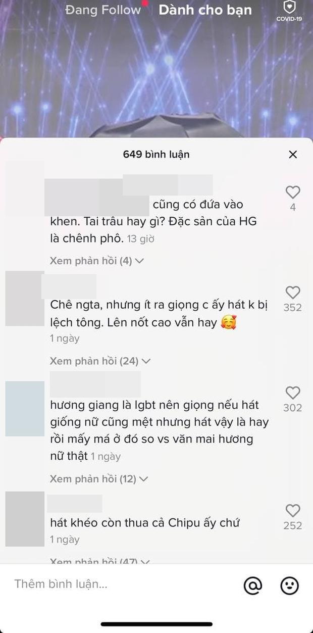 Tranh cãi Hương Giang hát chênh phô tại buổi tổng duyệt, còn yêu cầu người khác cầm ô che nắng cả buổi - Ảnh 4.