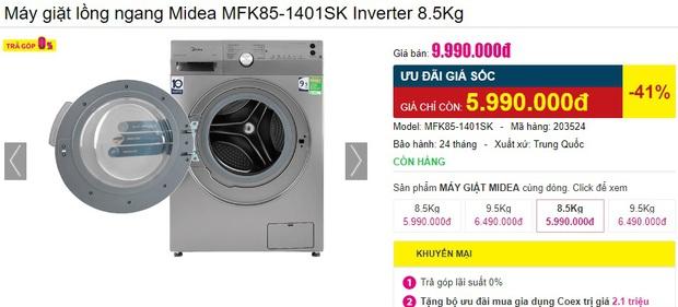 4 tips chọn mua máy giặt cho người độc thân: Vừa tiết kiệm bạc triệu vừa dùng được dài lâu - Ảnh 5.