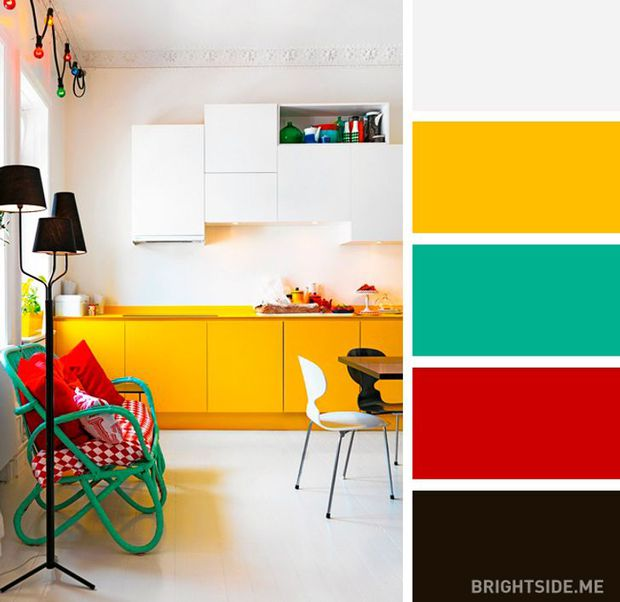 20 sự kết hợp màu sắc đỉnh của chóp cho căn bếp thêm đẹp và sang - Ảnh 10.