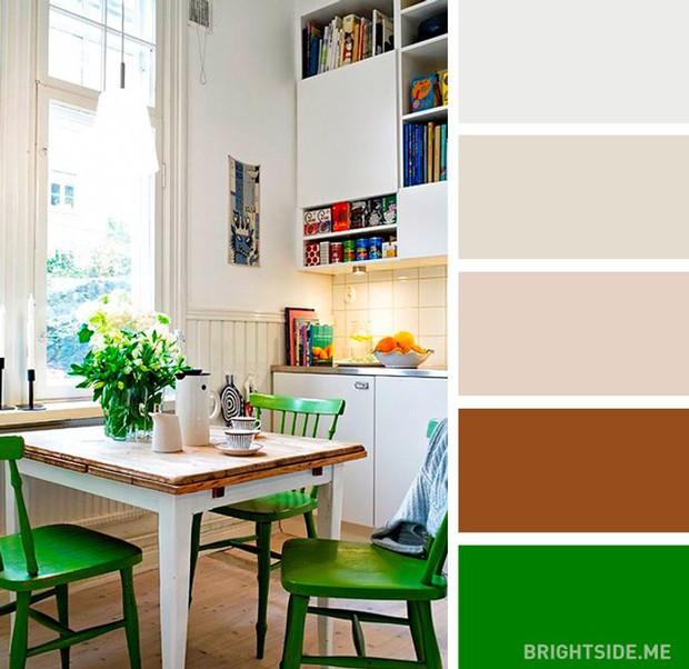 20 sự kết hợp màu sắc đỉnh của chóp cho căn bếp thêm đẹp và sang - Ảnh 11.